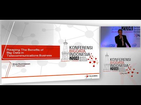 """REAPING THE BENEFITS of BIG DATA in TELECOMMUNICATIONS BUSINESS"" - Dios Kurniawan"
