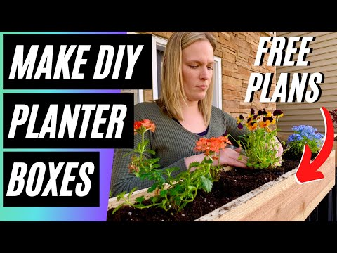 how-to-make-easy-diy-planter-box-/-plans-free-with-limited-tools