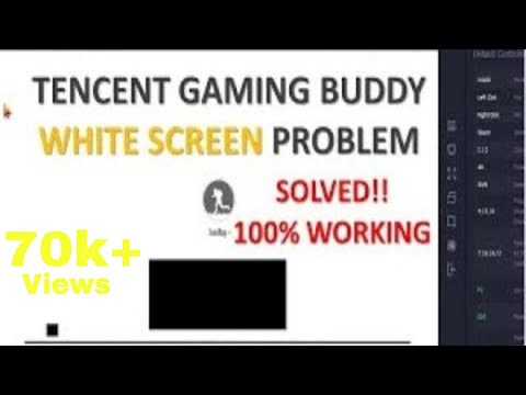White Screen on Pubg Mobile on Tencent Gaming Buddy / Gameloop Fixed|100% Working|PakZiN Official