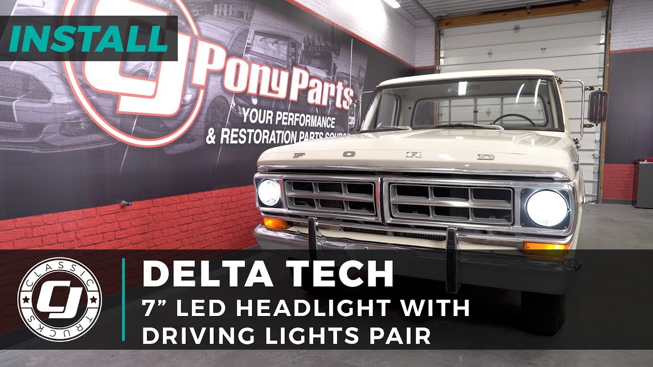 Ford F-250 Install: Pair of Delta Tech 7