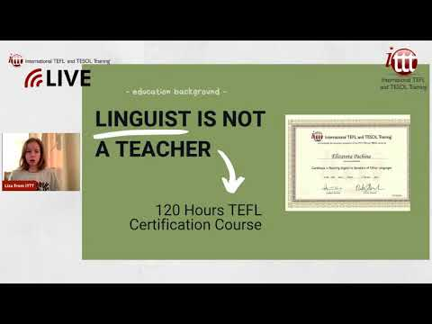 Live Session December 8, 2020: Teaching English as a Non-Native Speaker