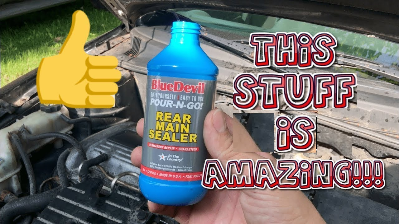 Blue Devil Oil Stop Leak - WOW DOES THIS STUFF WORK!!! Full Review!!