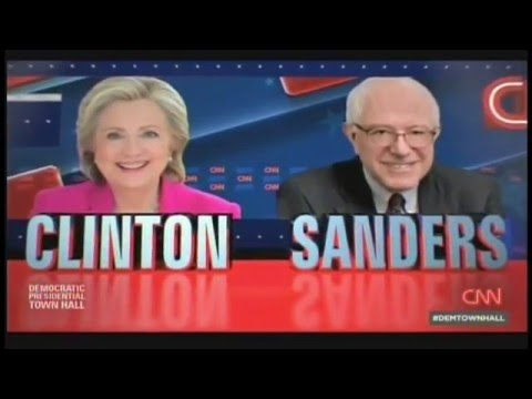 CNN Democratic Presidential Town Hall Derry New Hampshire (February 3, 2016)