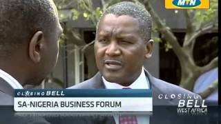 SA & Nigeria Trade Relations with Aliko Dangote