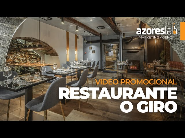 RESTAURANTE GIRO - Video Promocional