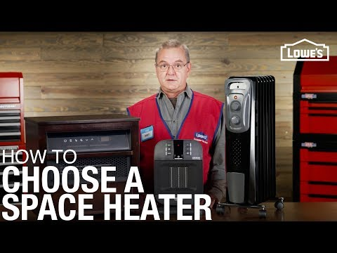 How To Choose A Space Heater | Lowe's Buying Guides With Bret