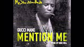 Gucci Mane - Mention Me Instrumental - Prod by Mike Will Made It