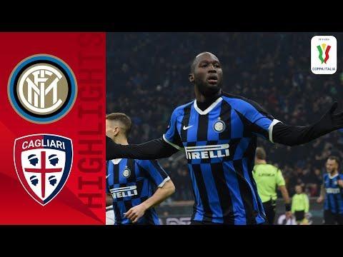 Inter 4-1 Cagliari | Lukaku Brace Helps Hosts Into Quarter-finals | Round Of 16 | Coppa Italia