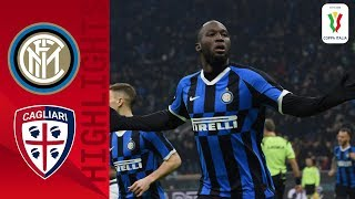 Inter 4-1 Cagliari  Lukaku brace helps hosts into quarter-finals  Round of 16  Coppa Italia