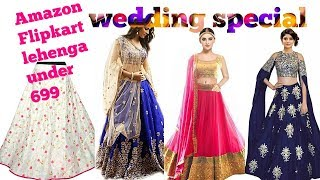 Amazon Lehenga under 699/ Wedding special amazon lehenga/Affordable Amazon Lehenga under 699