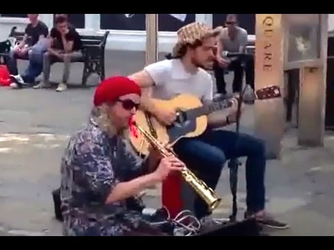 Amazing Street Blues Busters! Saxophone & Guitar