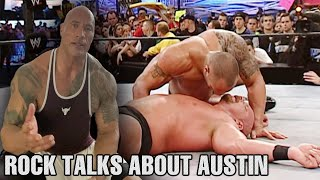 The Rock Talks About Moments With Stone Cold Steve Austin and WrestleMania 19