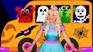 Wheels on the Bus Halloween Song | Nursery Rhymes and Kids Songs for Toddlers and Baby