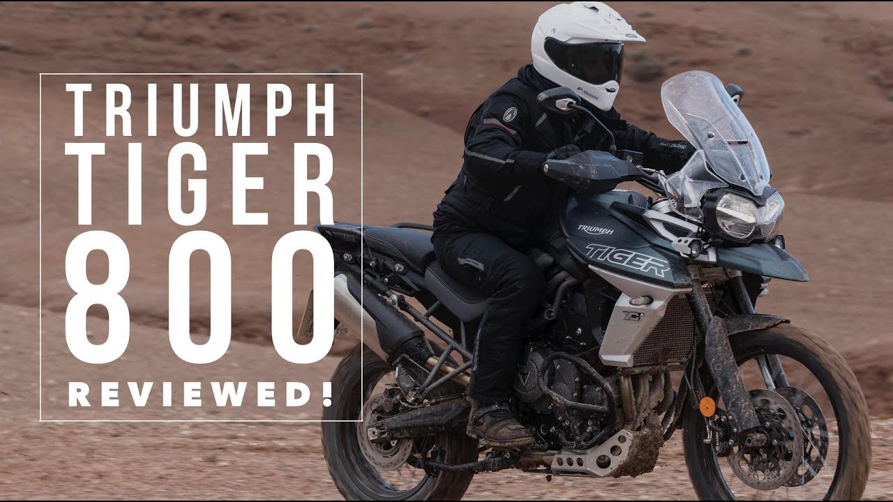 triumph tiger 800 2018 review [ 1280 x 720 Pixel ]