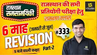 Rajasthan Current Affairs 2021 | #333 Know Our Rajasthan By Narendra Sir | Utkarsh Classes