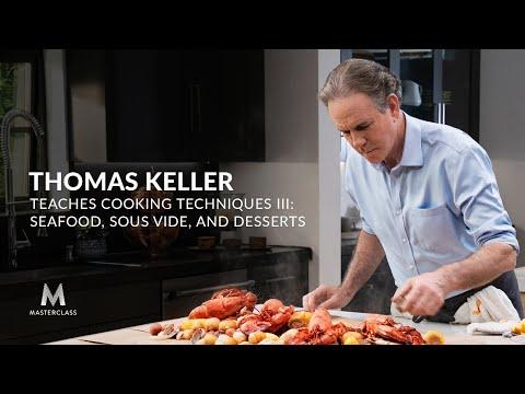 Thomas Keller Dạy Kỹ Thuật Nấu Ăn Trên Lớp Học Bậc Thầy III