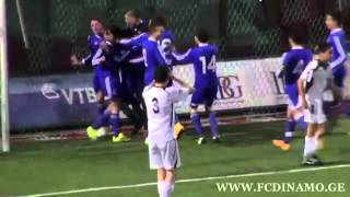 FC Saburtalo Tbilisi 0:2 FC Dinamo Tbilisi 13.12.14