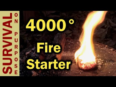 The Best Magnesium Fire Starter For A Surival Kit?