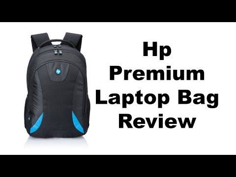 HP premium laptop bag review