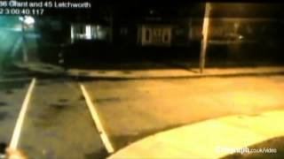 CCTV captures violent hit and run in New York