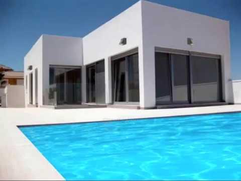 visite superbe maison moderne espagne votre nouveau coup de c ur youtube. Black Bedroom Furniture Sets. Home Design Ideas