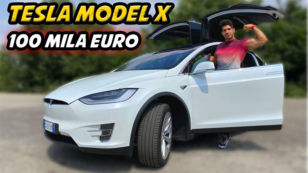 HO PRESO UNA TESLA MODEL X