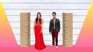 How Much Taller? - Christina Perri vs Bruno Mars!