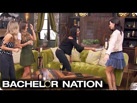 Becca Gets Some Sage Advice from Rachel Lindsay! | The Bachelorette US