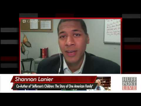 Shannon Lanier Talks About Being Related To Thomas Jefferson