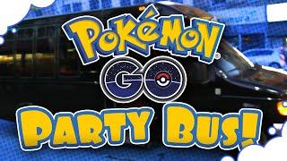 Pokemon GO Party Bus! - GrumpOut