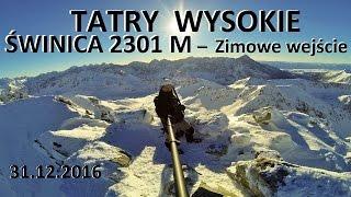 TATRY WYSOKIE - winica 2291  2301 M  31122016 - Zimowe wejcie