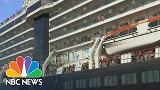 Desperate Search For Cruise Passengers After American Tests Positive For Corona | NBC Nightly News