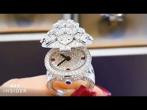 Diamond Ring Doubles As Watch