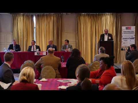 NJBIZ Panel Discussion: Construction & Development // April 17, 2018