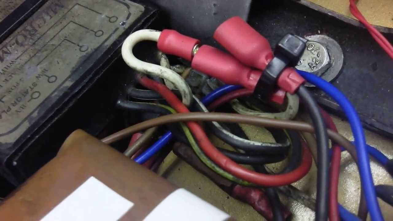 Triumph T120 Get You Home If Your Fuse Blowsboyer Ignition Youtube Wiring Diagram