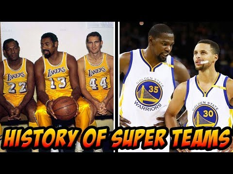 Why Super Teams Are Nothing New To The NBA