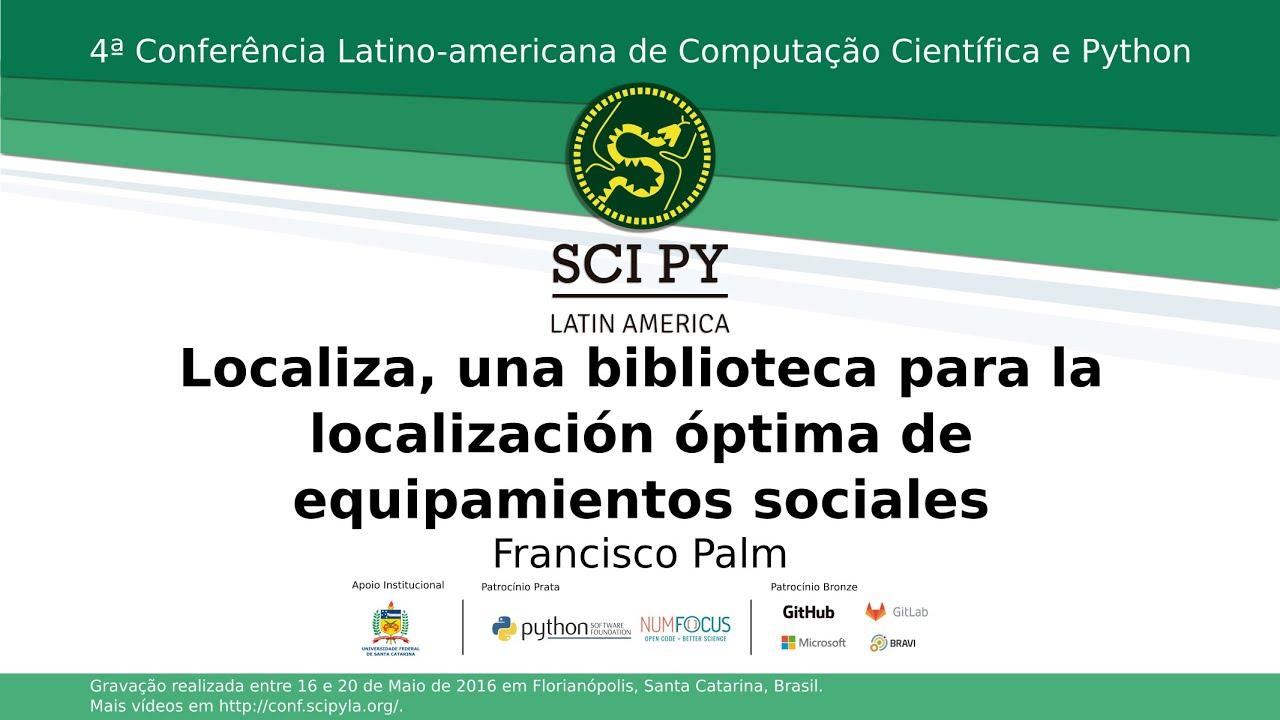 Image from Localiza, una biblioteca para la localización óptima de equipamientos sociales
