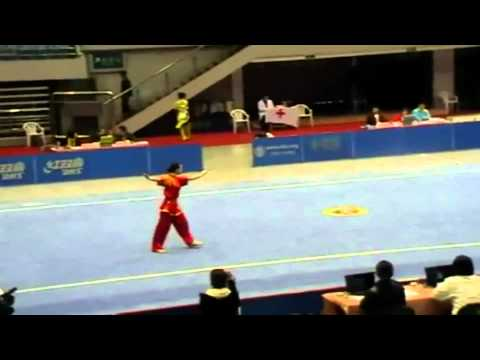 Martial arts of China with music : musical wushu form by athlete of China .mkv