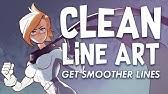 Clean Line Art!Digital Inking Tips