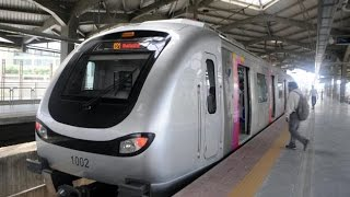 Mumbai Metro Train || Journey From Versova To Andheri In Mumbai Metro