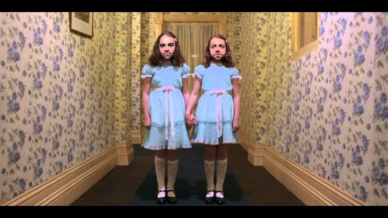 The Shining Twins Hallway Scene
