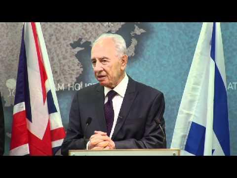 Shimon Peres, President Of Israel: Sixty Years Of British-Israeli Diplomatic Relations