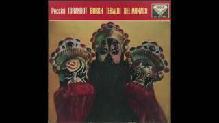 Silent Tone Record/プッチーニ:トゥーランドット/アルベルト・エレーデ指揮ローマ聖チェチーリア音楽院管弦楽団/合唱団、インゲ・ボルク、レナータ・テバルディ、マリオ・デル・モナコ