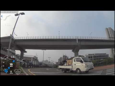 Republic of korea bicycle riding [UHD] hangang river bicycle road