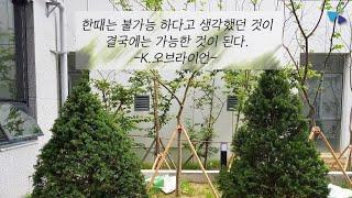 #동구복합문화센타 #장애인램프 #조경공사