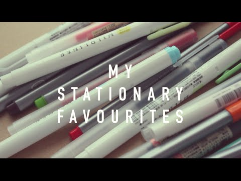 My Stationery Favourites! (2016)