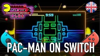 PAC-MAN Championship Edition 2 Plus - Official trailer for Switch (English)
