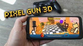 JUGANDO nuevo MAPA de PIXEL GUN 3D 😱 con mi nuevo MÓVIL GAMING 🎮   enriquemovie