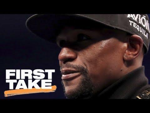 First Take talks Floyd Mayweather's legacy | First Take | ESPN