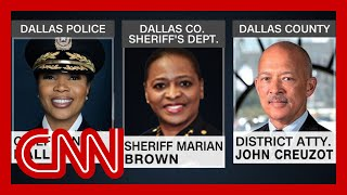 Trump's justice roundtable excluded top black local law enforcement